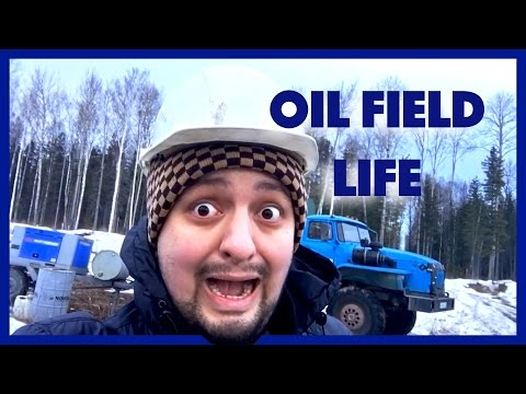 LIVING AT THE OIL FIELD IN SIBERIA! [RUS SUB]