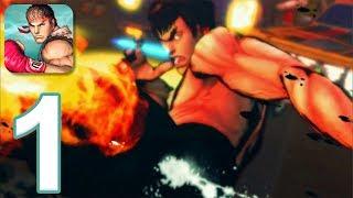 Street Fighter IV Chion Edition Gameplay Walkthrough Part 1 iOS