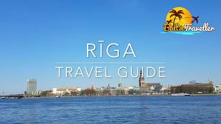 Riga travel video. Best places to see in capital of Latvia.