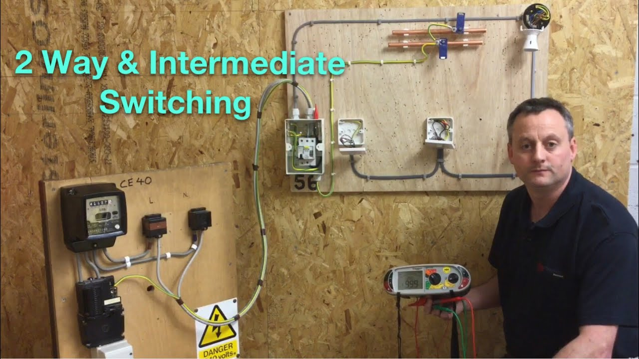 Continuity Polarity And Insulation Resistance Of Our 2 Way Wire Switch Diagram Lights Intermediate Lighting Circuit