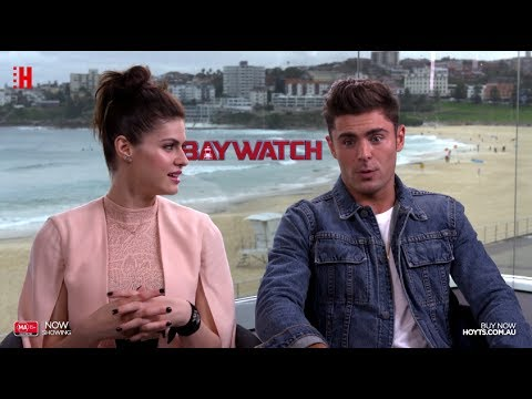 Baywatch - Zac & Alex Interview