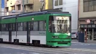 広島電鉄 3950形3956号車 十日市町電停付近にて 20171109