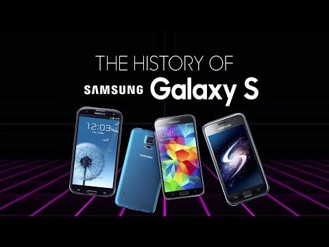 History of the Samsung Galaxy S (S-S7)