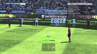 PES 2015 - Messi Nice Free Kick Goal [HD]