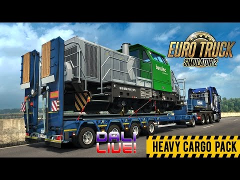 Euro Truck Simulator 2 - Heavy Cargo Pack (with commentary)