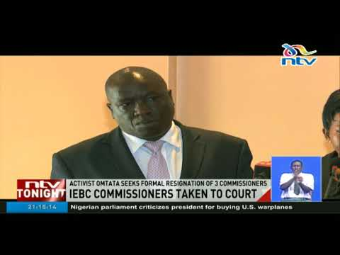 Activist Okiya Omtata seeks formal resignation of three IEBC commissioners in court