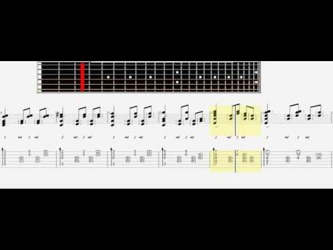 How to Play Sungha Jung   a Thousand Years tab,tutorial