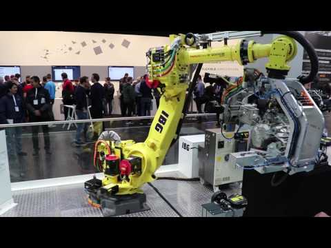Robots in Germany | Hannover Messe 2017 | Industrial Robots Compilation | ганновер 2017