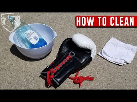 How to Clean Boxing Gloves (Eliminate Stinky Odor)