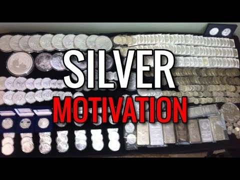 Silver Motivation | How To Stack Precious Metals Consistently & Reach Coin/Bar Ounce Goals