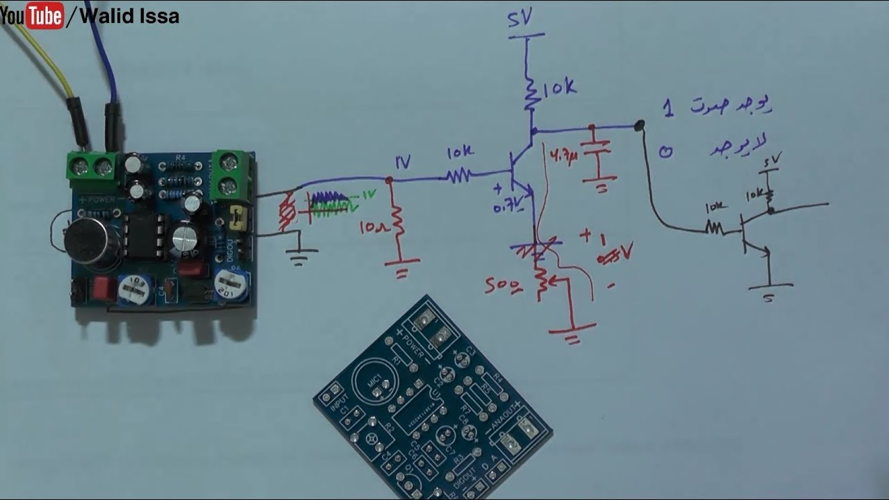 DIY Sound Amplifier/Detector Circuit