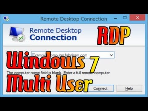 Cara Setting RDP Remote Desktop Windows 7.
