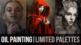 Limited Palettes | Oil Painting Process + Chat