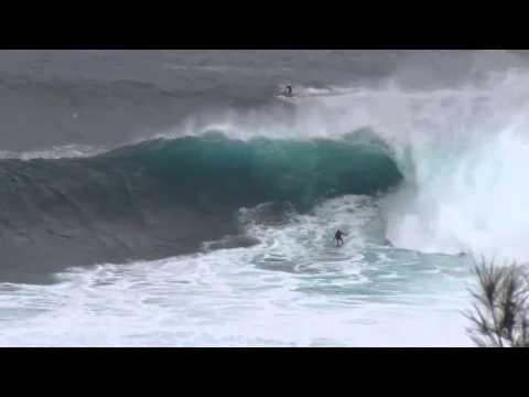 Maui Big Waves at Jaws, Surfing on Maui