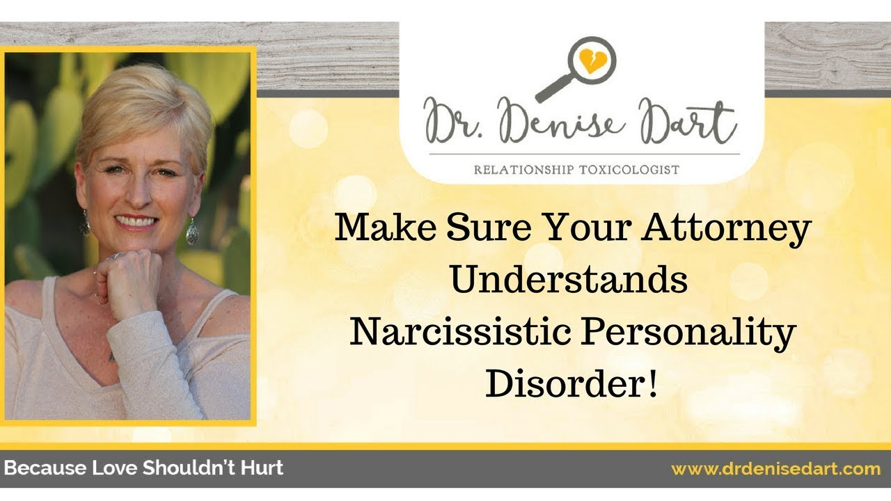 Narcissistic personality disorder divorce lawyer