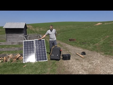 Solar Generator - Battery Bank & Solar Panel Expansion