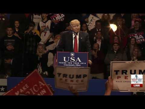Full Speech: President-Elect Donald Trump Rally in Cincinnati, OH 12/1/16
