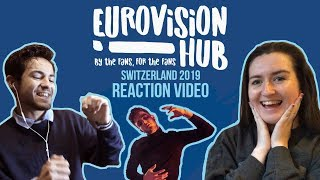 Switzerland | Eurovision 2019 Reaction Video | Luca Hänni - She Got Me thumbnail