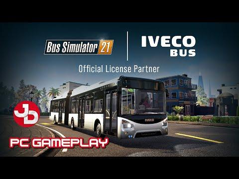 Bus Simulator 21 | Iveco 12m Bus | PC Gameplay 1440p 60fps