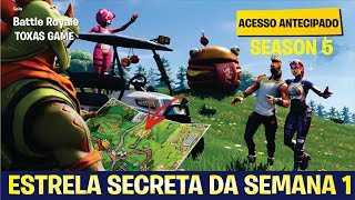 SECRET STAR WEEK 1-SAISON 5-FORTNITE