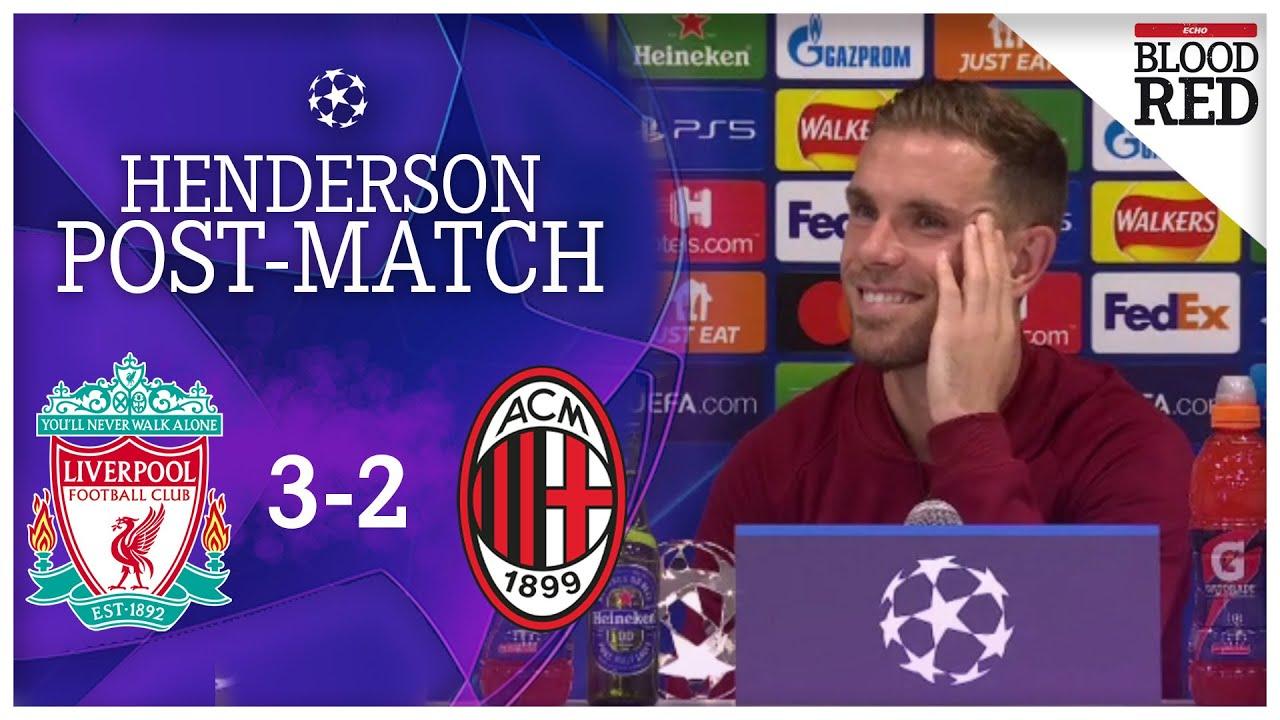 Liverpool vs. AC Milan score, highlights: Jordan Henderson wins ...