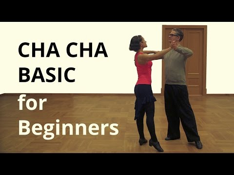 CHA Basic Steps for Beginners / Latin Dance
