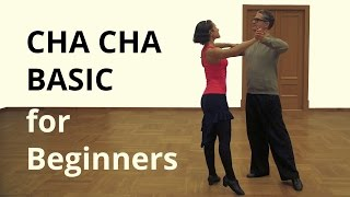 CHA Basic Steps for Beginners / Latin Dance