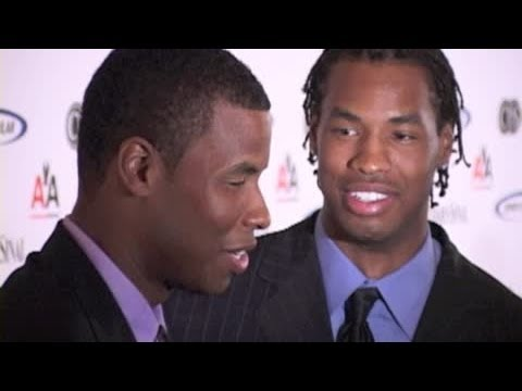 JASON COLLINS and twin brother JARRON COLLINS attend charity gala