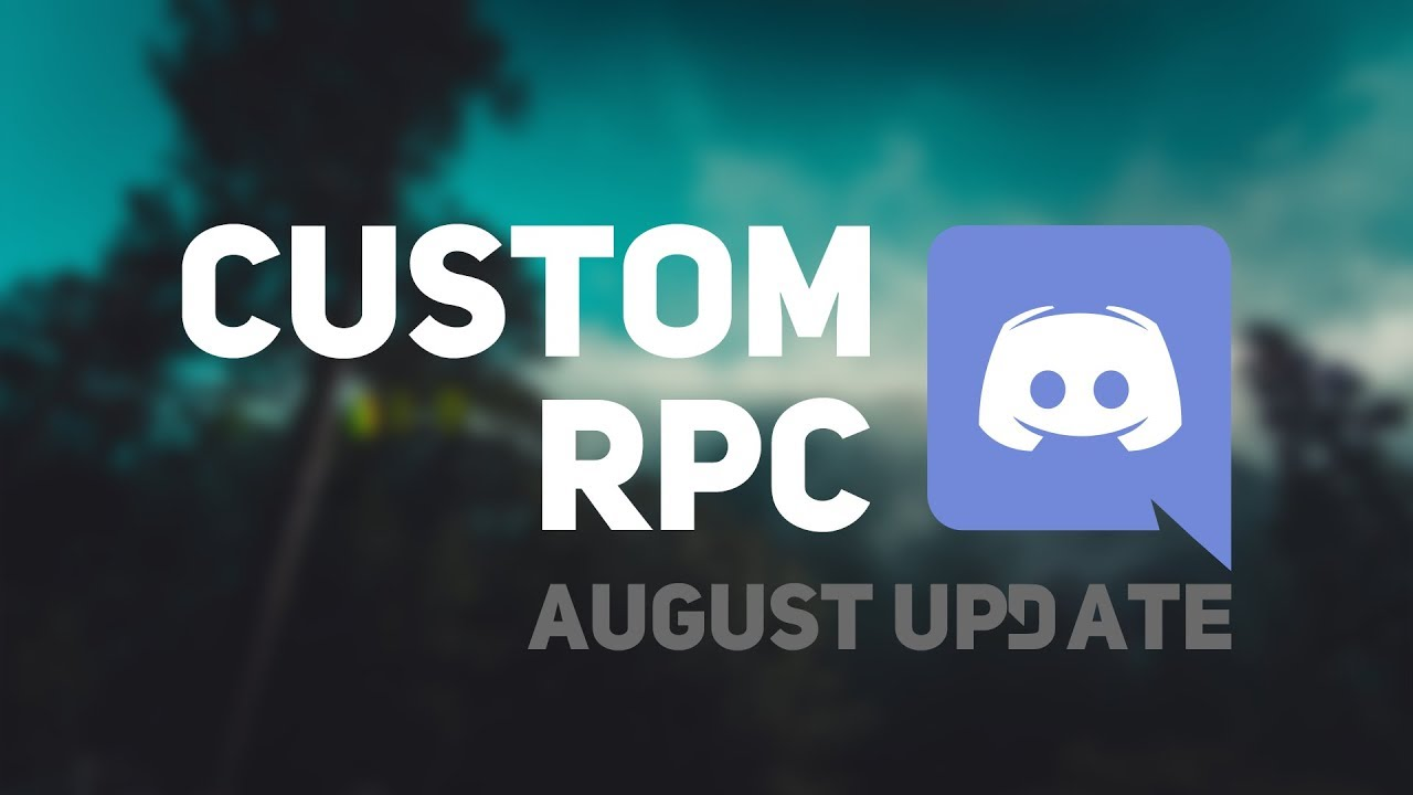 How to make a custom Rich Presence in Discord - August Update