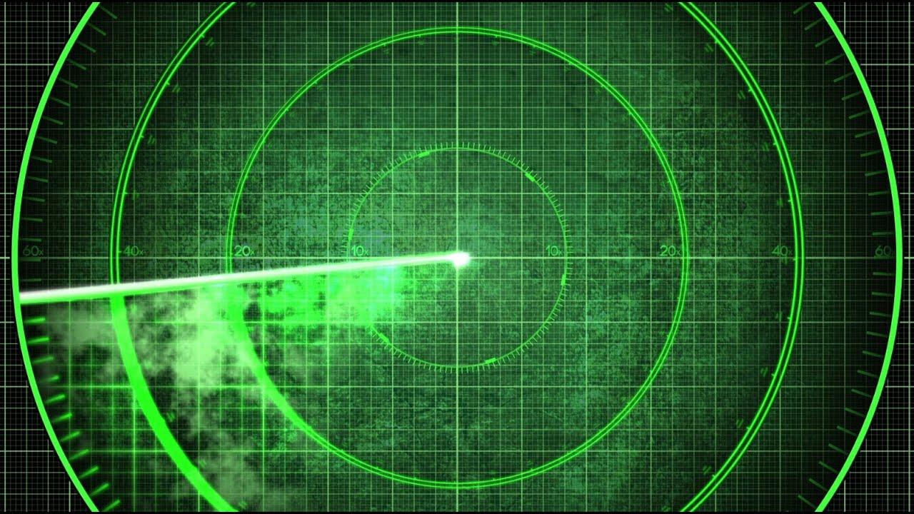 Radar Detection Screen Display 2 Looping Styles Youtube