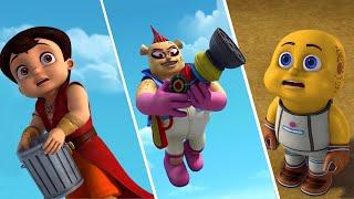 Super Bheem - The Gluto Land Adventure | Funny Kids Videos | Fun Cartoon for Kids