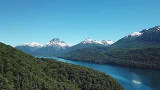 Bariloche, Patagonia, Argentina - Amazing 4K Drone Footage