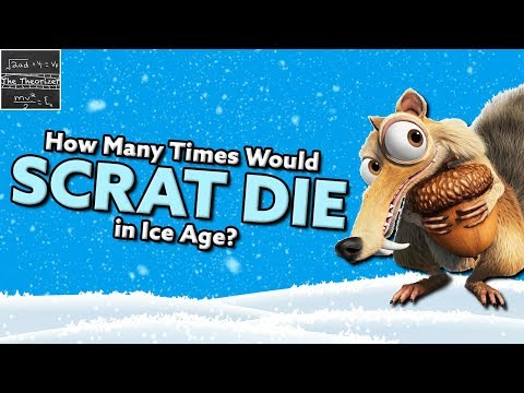 How Many Times Would Scrat DIE in Ice Age? [Theory]
