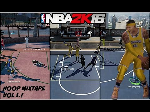 NBA 2K16| Ankle Breaker + Hoop Mixtape Vol 1.! | BEST MYPARK PLAYER!!