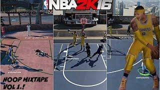 NBA 2K16| Ankle Breaker + Hoop Mixtape Vol 1.! | BEST MYPARK PLAYER!!