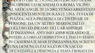 CASSANO IONIO CAVALIERE GAETANO IL MARESCIALLO PERRONE SALVATORE COINVOLTO IN OMICIDI .wmv
