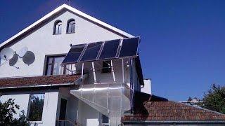 Солнечные модули на фасаде  3 кВт.(, 2015-04-08T09:52:26.000Z)