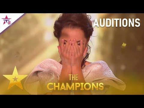 Kseniya Simonova: AMAZING Sand Artist Gets GOLDEN Buzzer!| Britain's Got Talent: The Champions