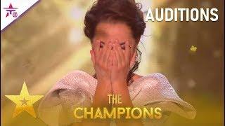 Gambar cover Kseniya Simonova: AMAZING Sand Artist Gets GOLDEN Buzzer!| Britain's Got Talent: The Champions