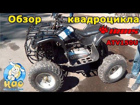 Квадроцикл IRBIS ATV 150U, 2012 г., обзор и тест-драйв.