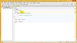 PHP Tutorial : object oriented programming with php