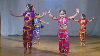 Nee namma geluvagi baa dance by Kushi Playhome 2016-17
