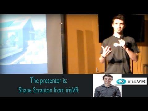 IrisVR with Shane Scranton_Boston Virtual Reality_2015