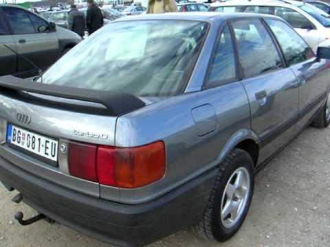 Audi 80 Polovni Automobili Auto Oglas Na Wwwautomotoberzars