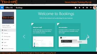 Office 365 Bookings App - Lesson One