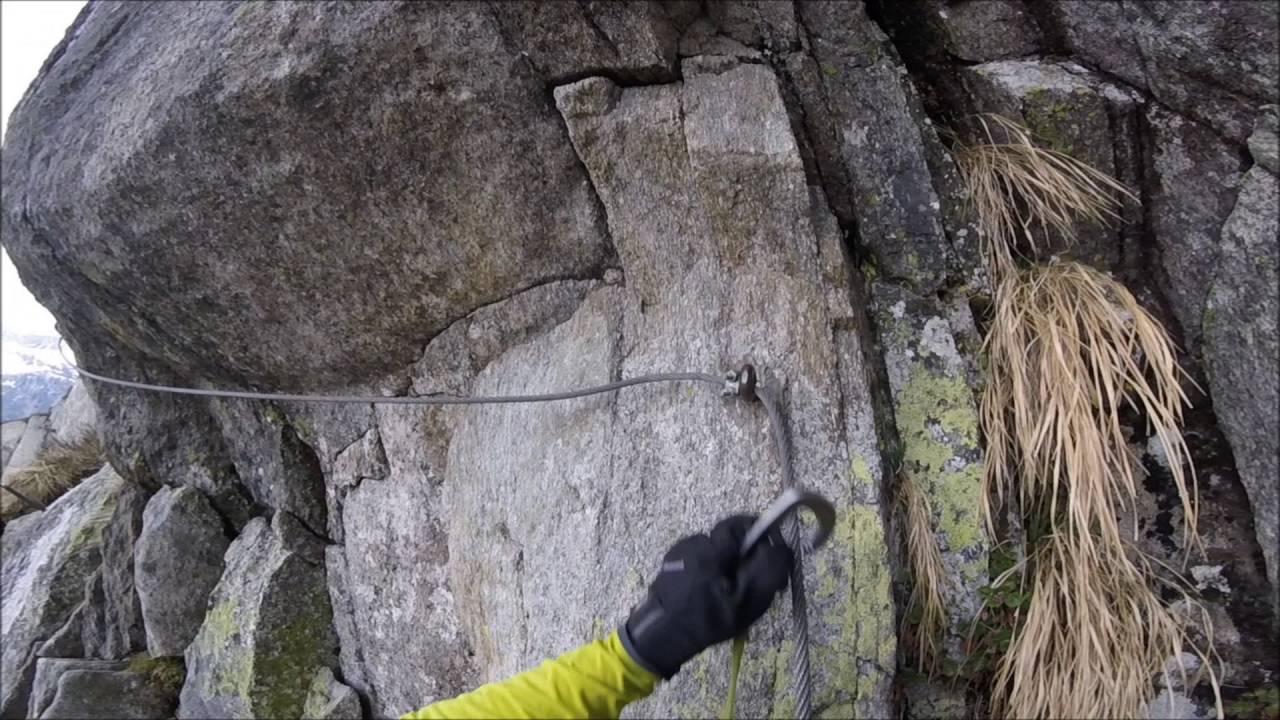 Klettersteig Diavolo : Klettersteig diavolo gütsch stöckli andermatt youtube