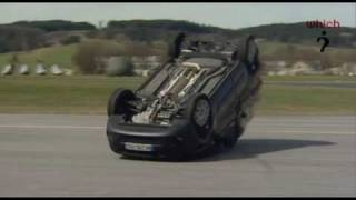 Citroen Nemo rolls over in Which? tests