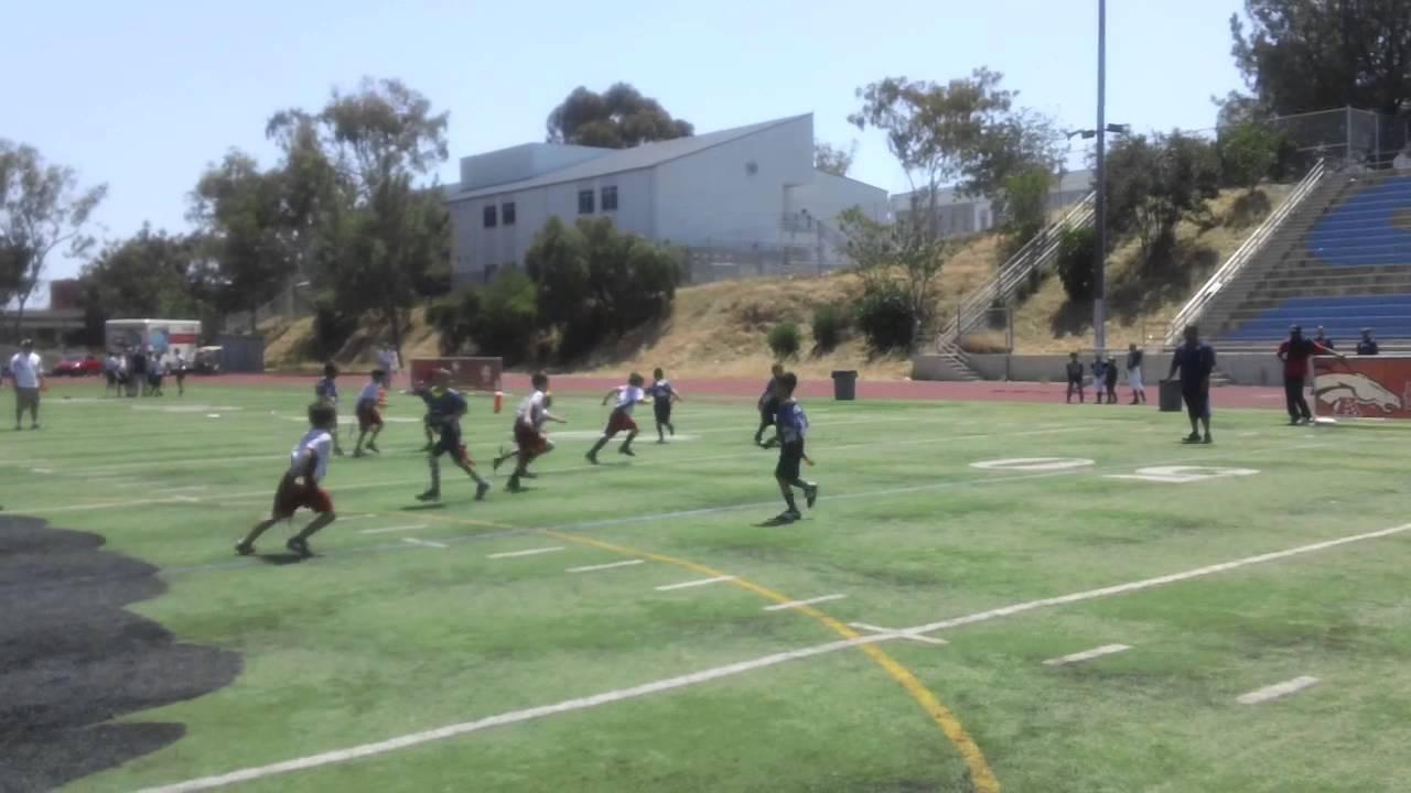 Nfl Flag Football Week 6 Chargers V Giants Game 2 Youtube