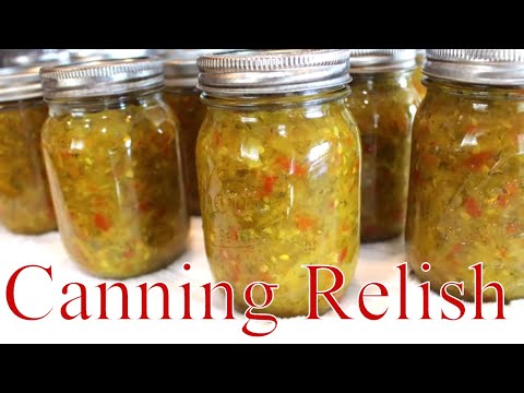 Canning Hamburger & Hot Dog Relish With Linda's Pantry