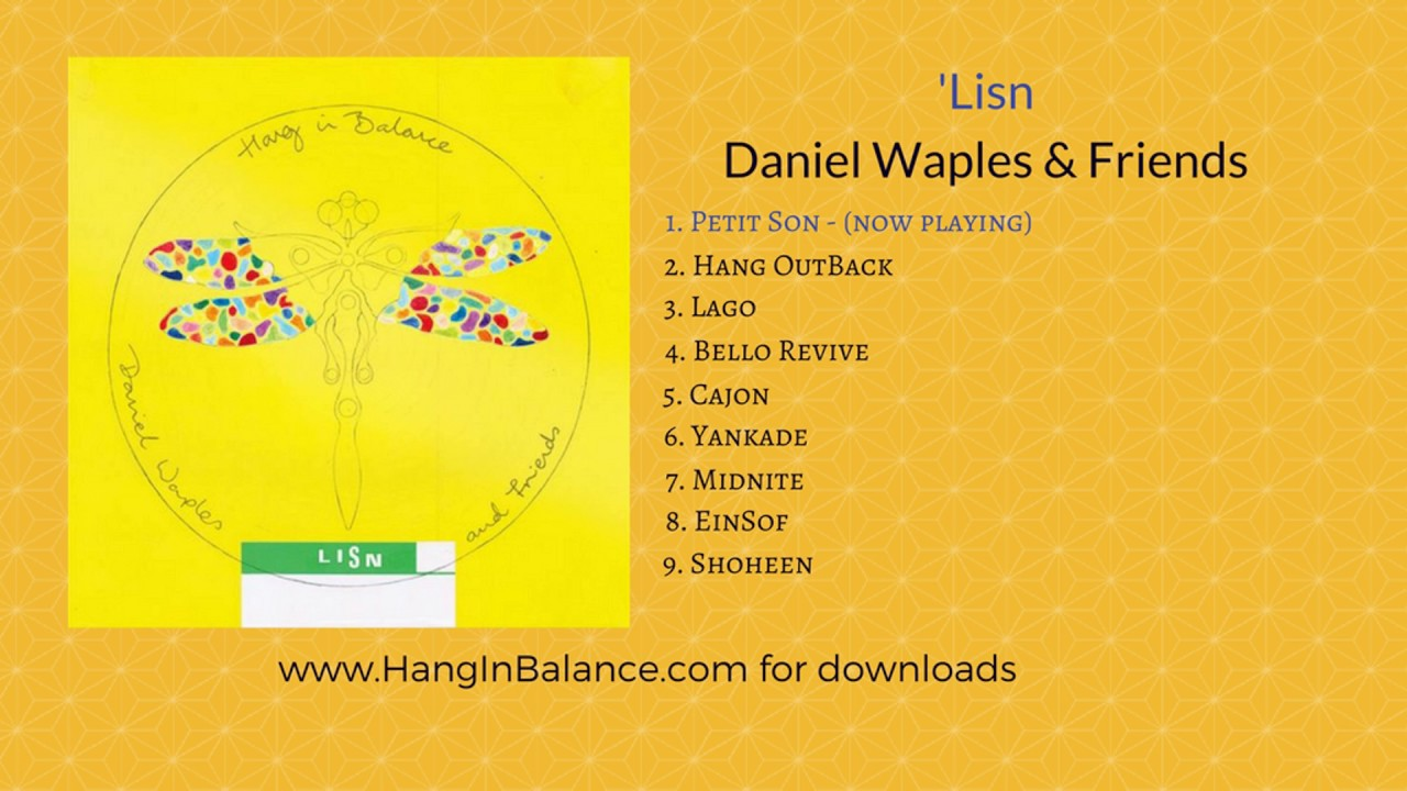 Daniel waples hang drum solo hd clever&cool.